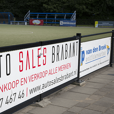 Sportveld borden Tilburg