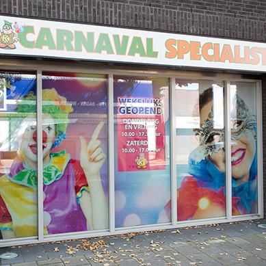 Raambekleding Tilburg Carnavalswinkel
