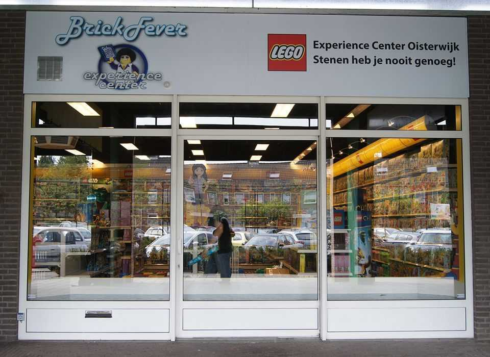 Gevelreclame Legostore Oisterwijk
