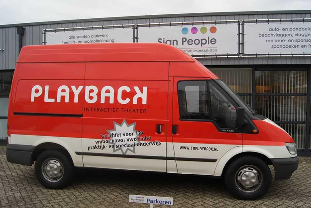 Bestickeren auto Playback