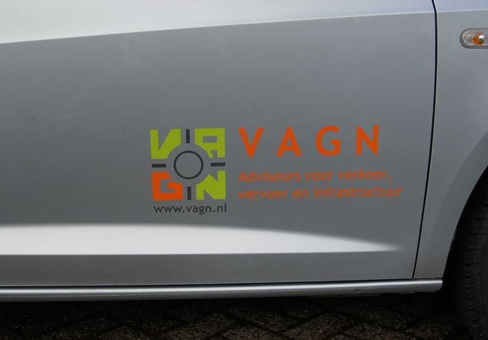 Autobelettering voor VAGN Brabant