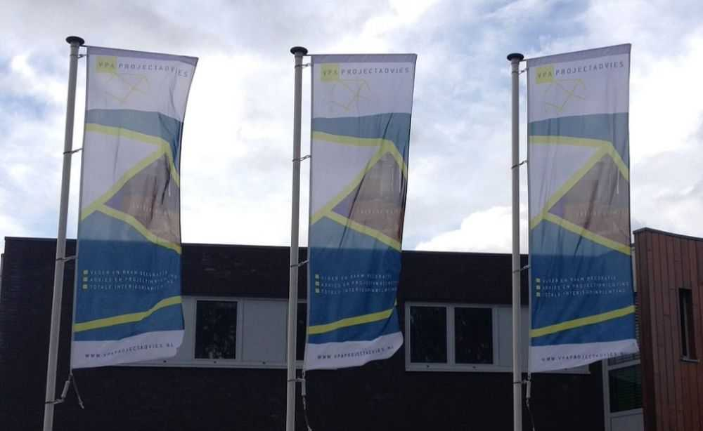 Banier vlaggen VPA Projectadvies