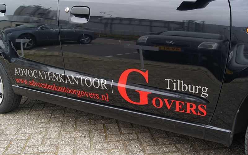 Autobelettering Tilburg Govers
