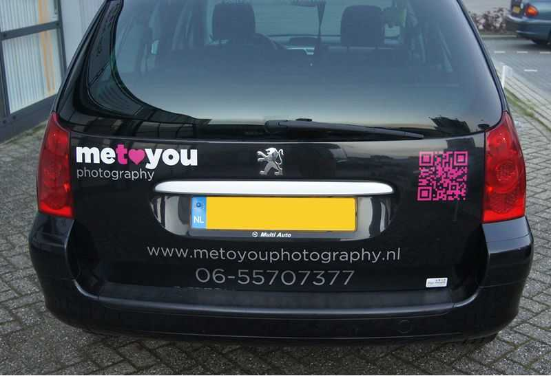 Autobelettering metoyou stickers