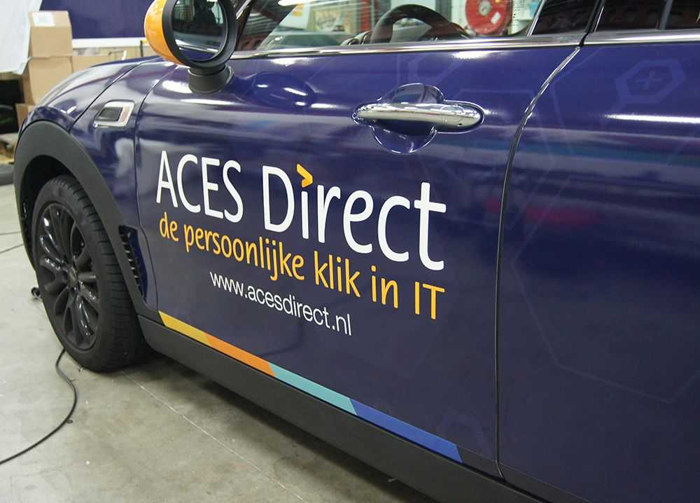 Carwrap voor Aces Direct