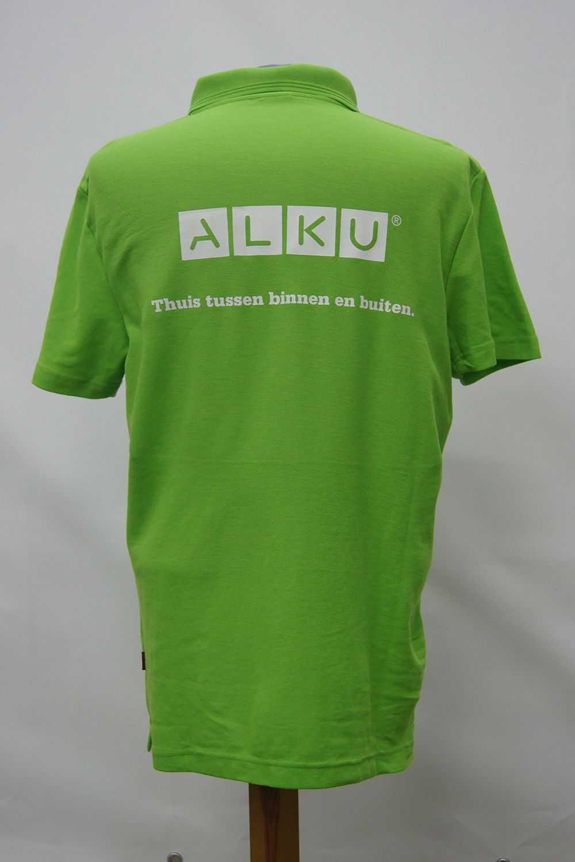 Polo met logo ALKU