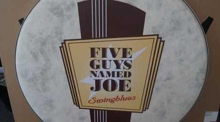 five guys named joe belettering