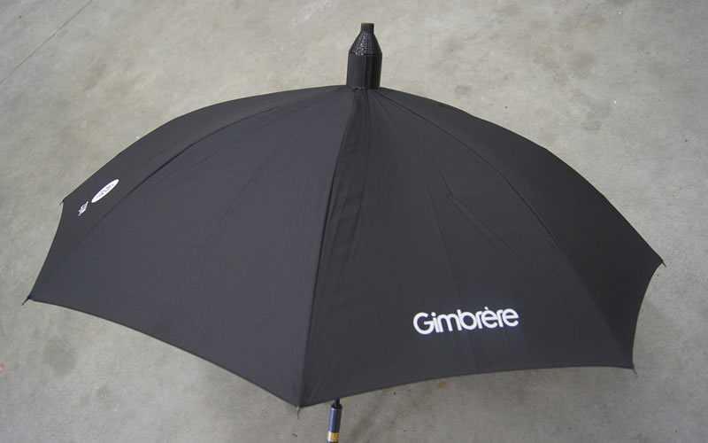 Gimbrère relatiegeschenken paraplu met logo