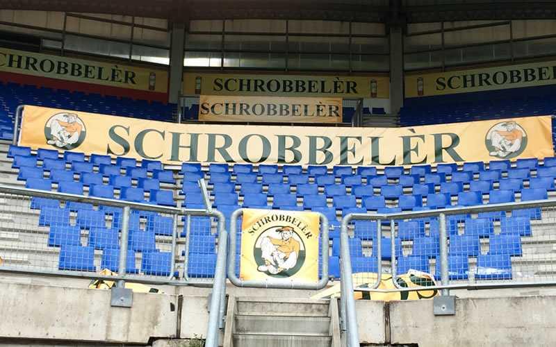 Schrobbelèr Spandoeken Willem2 stadion