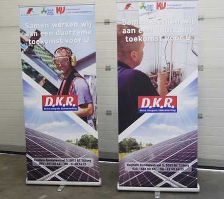 Roll-up banner DKR