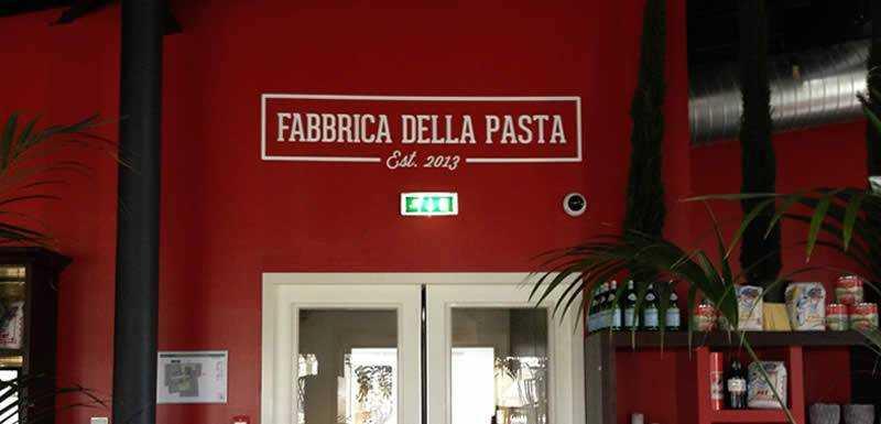 Fabbrica Della Pasta Belettering