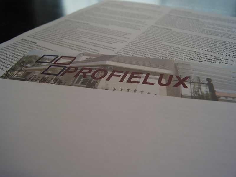 Drukwerk Profielux envelop met logo