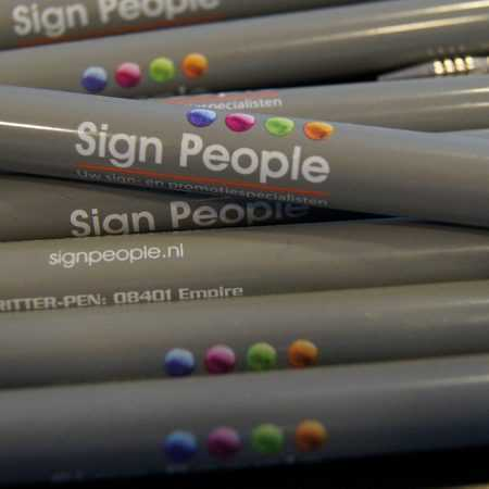Sign People pennen