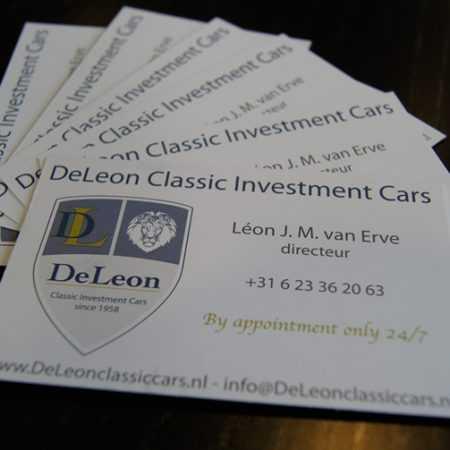 DeLeon Classic Cars Drukwerk