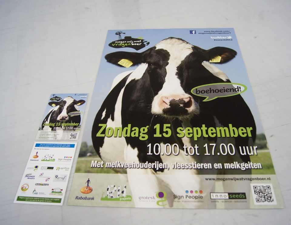 Drukwerk flyer poster