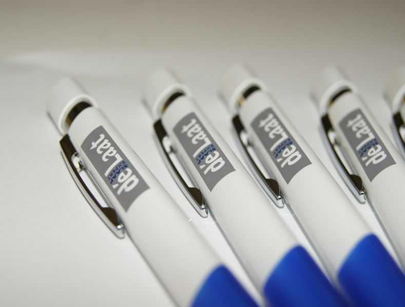 De Laat Slaapcomfort Bedrukte pennen