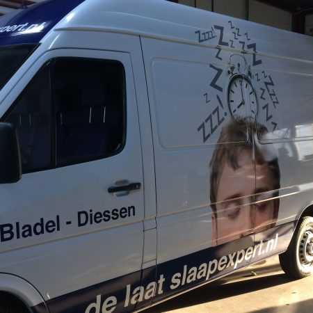 Slaapexpert.nl busbelettering