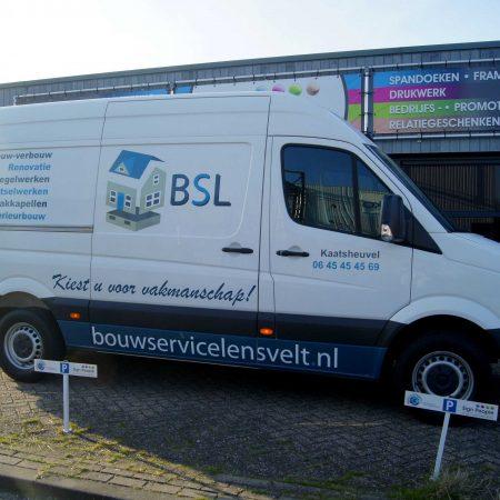 BSL bestelbus beletteren