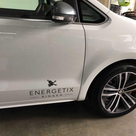 Energetix Bingen Autobelettering