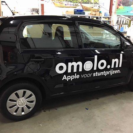 Omolo.nl autobelettering