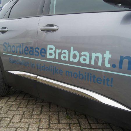 Personenautobelettering Shortleasebrabant.nl