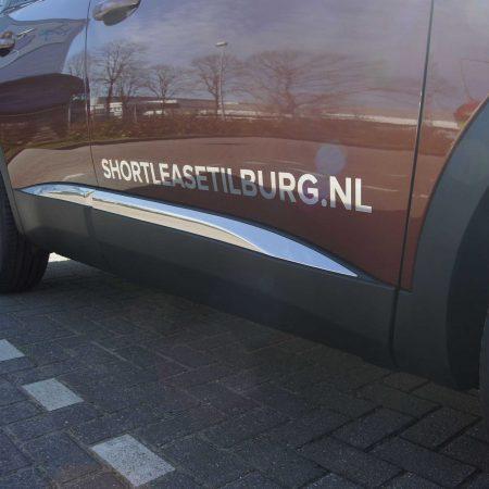 Auto belettering Shortleasetilburg.nl