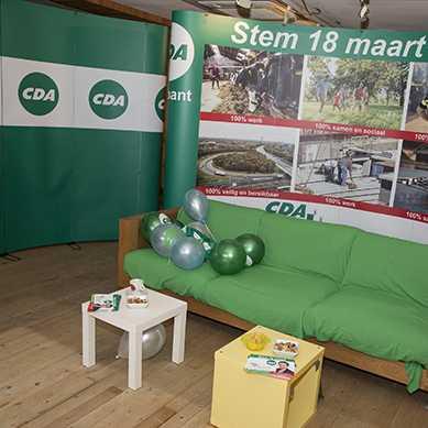 Beurswand CDA Brabant