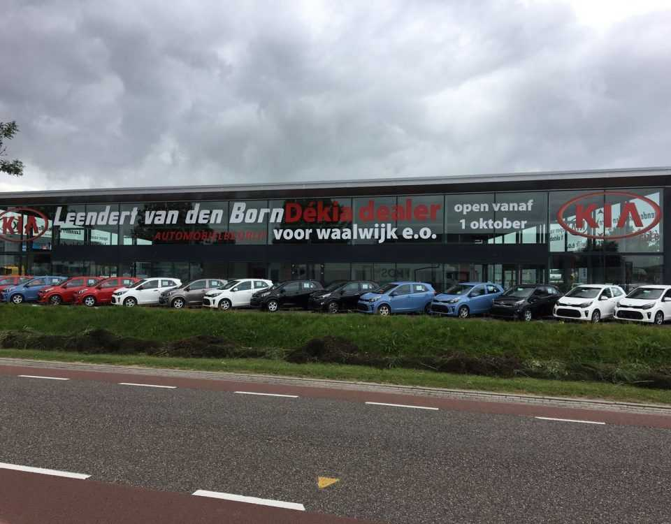 Raam sticker van den born