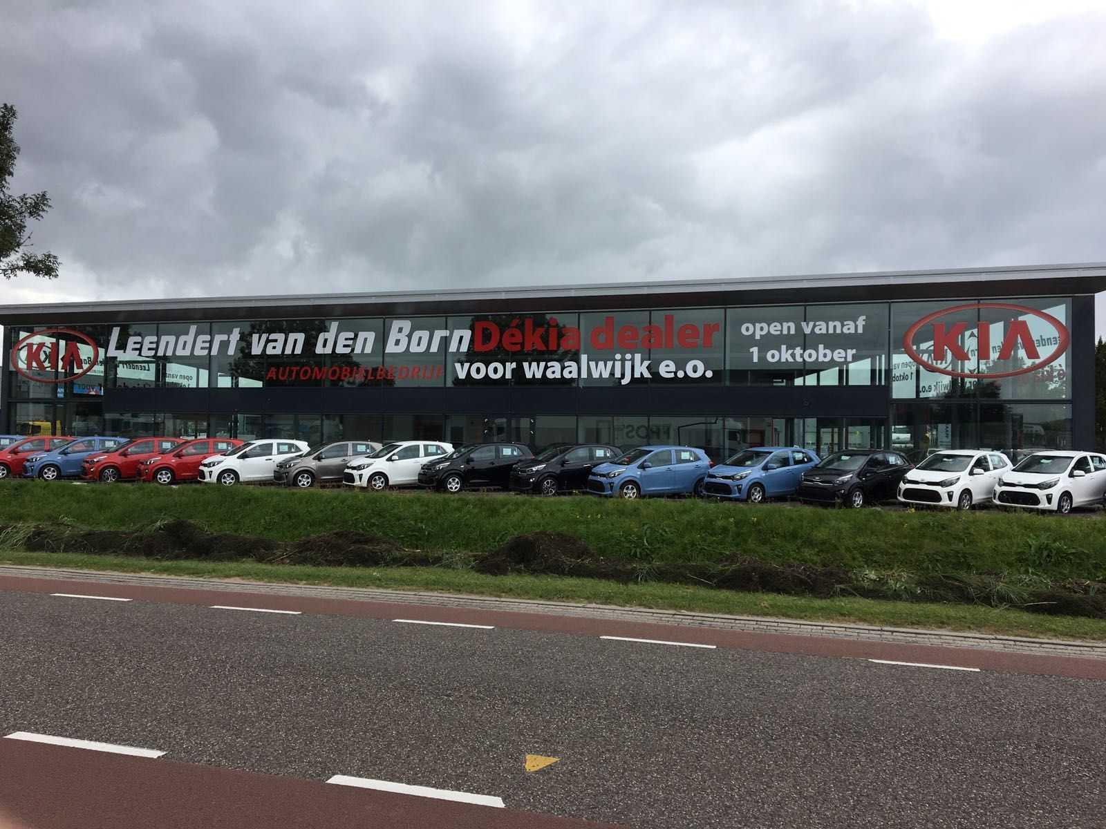 Raam sticker van den born