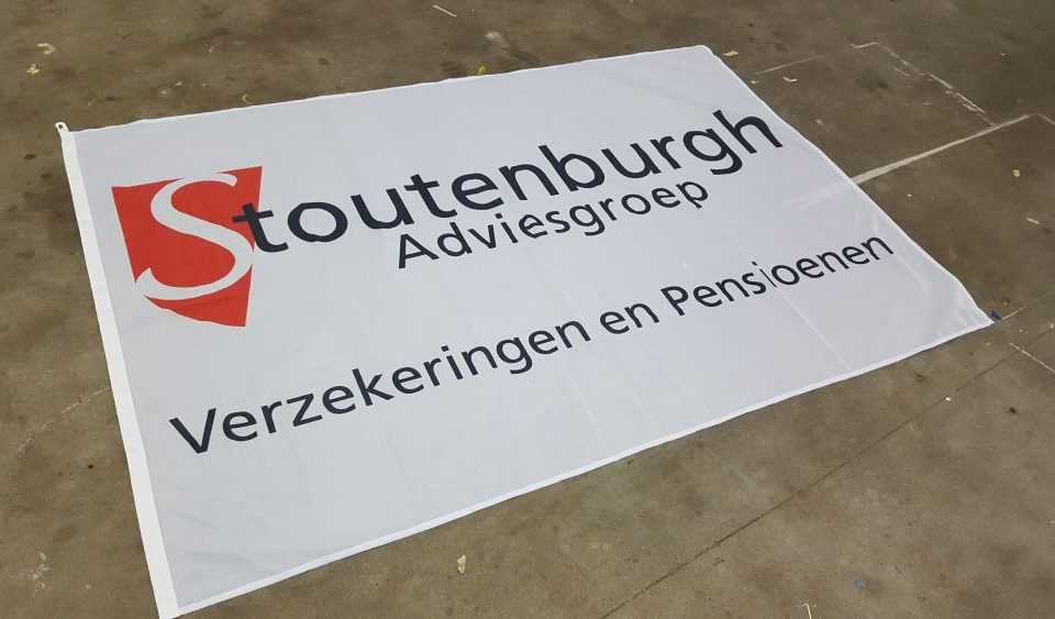 Stoutenburg adveisgroep spandoek