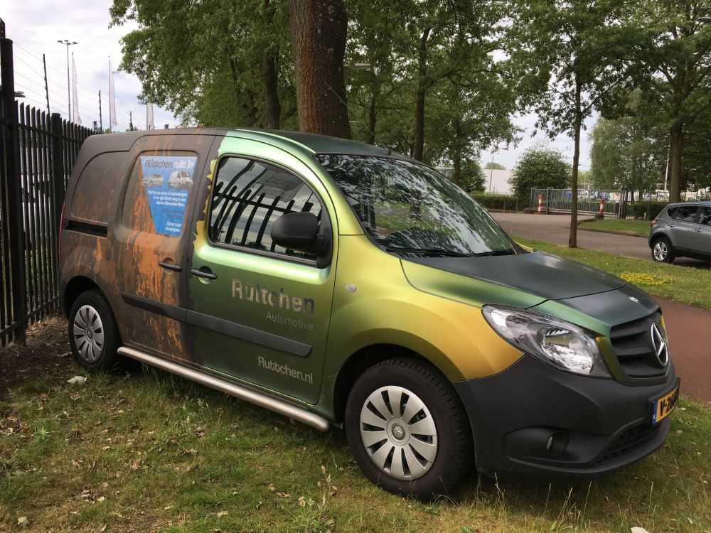 Carwrap Bestelbus van Ruttchen