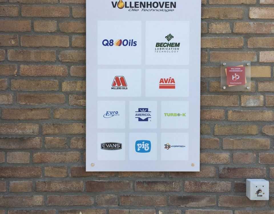 Vollenhoven buitenreclame logos