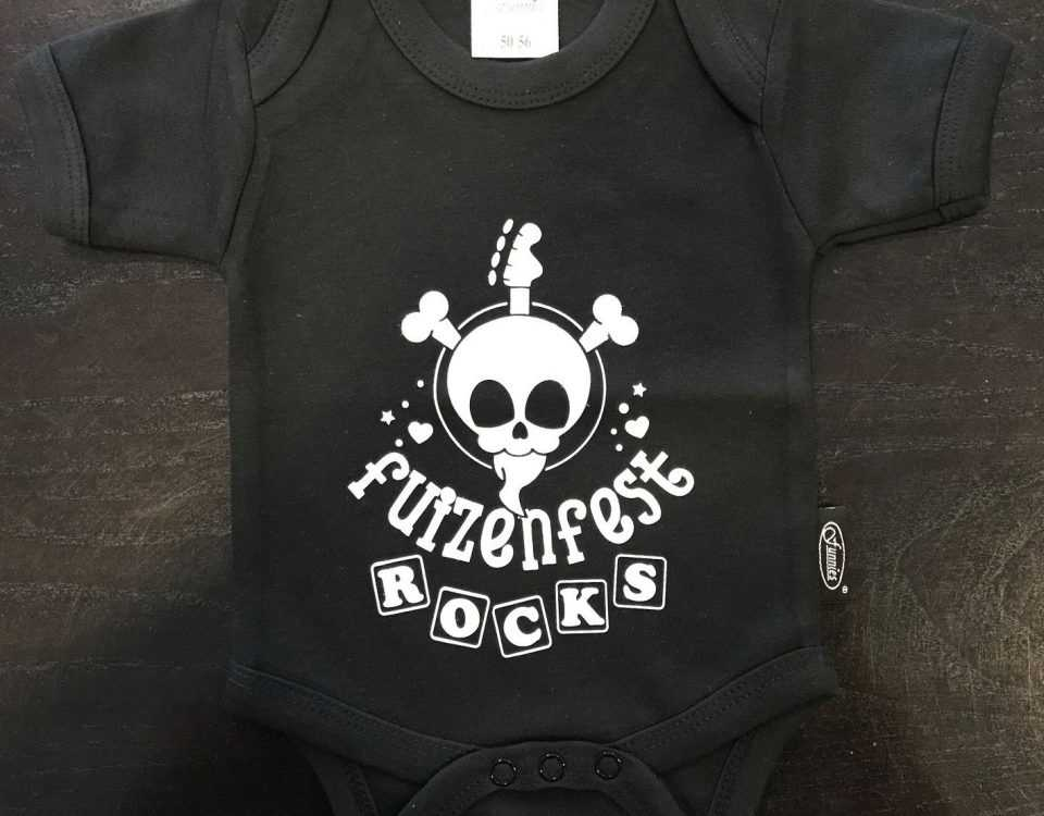 Baby kleding bedrukt