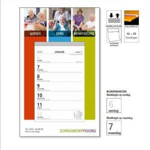 Kalender bedrukken printen bedrijf met logo