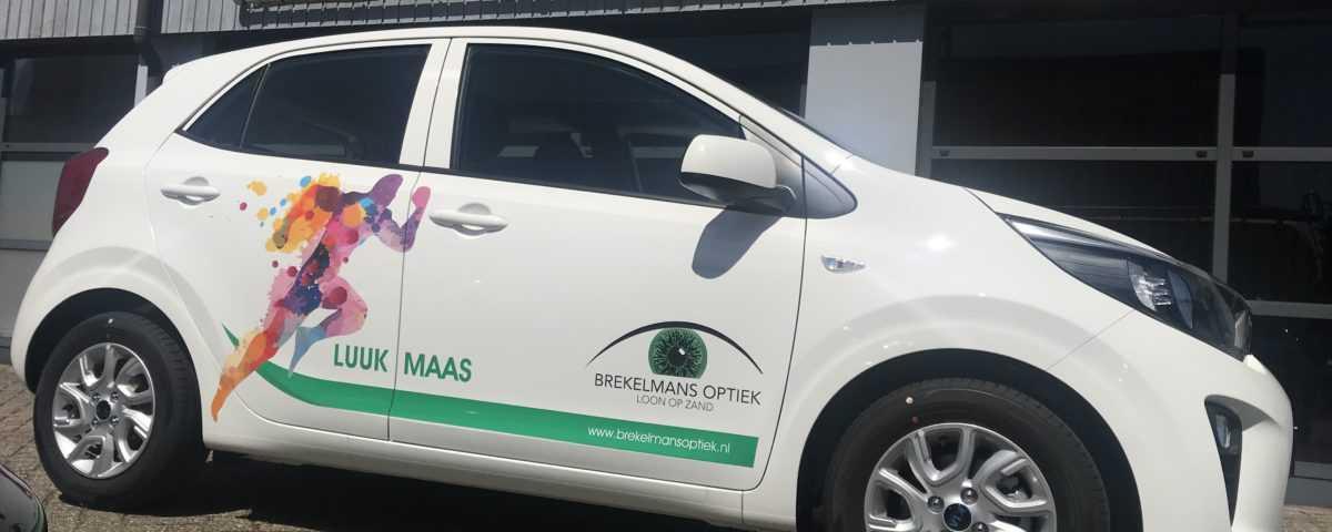 Autobelettering ontwerpen logo tekst auto wagen