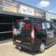 Autobelettering bedrijfswagen bedrijfsauto logo en tekst