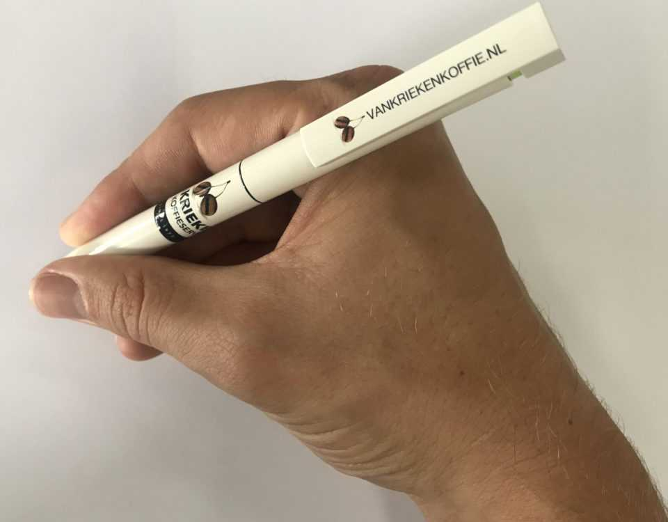 Pennen bedrukken met tekst en logo
