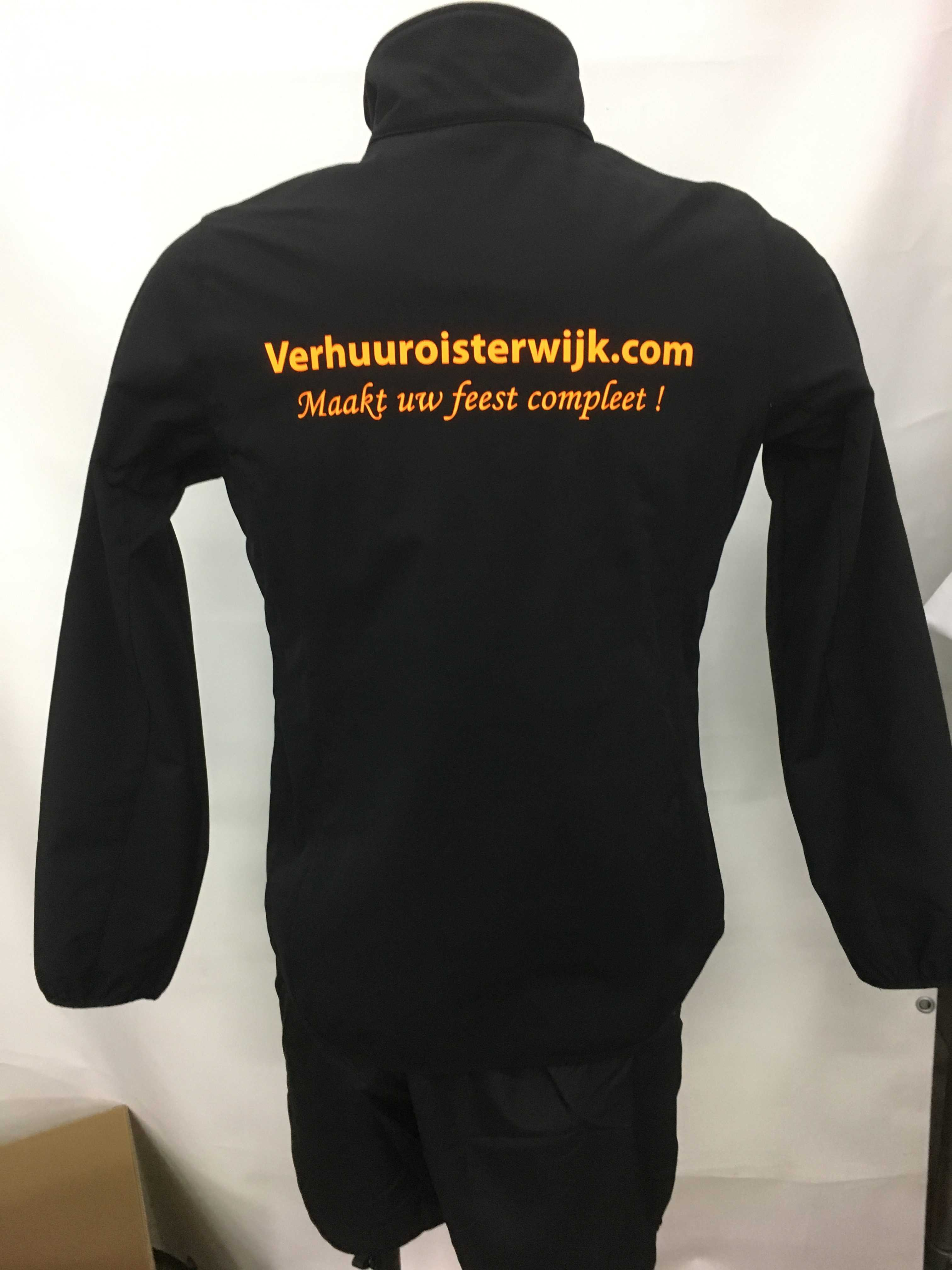 Werkkleding vest verhuur met logo bedrukken
