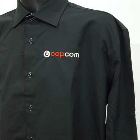 Overhemd borduren met logo en tekst