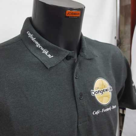 Bedrijfskleding polo bedrukken logo