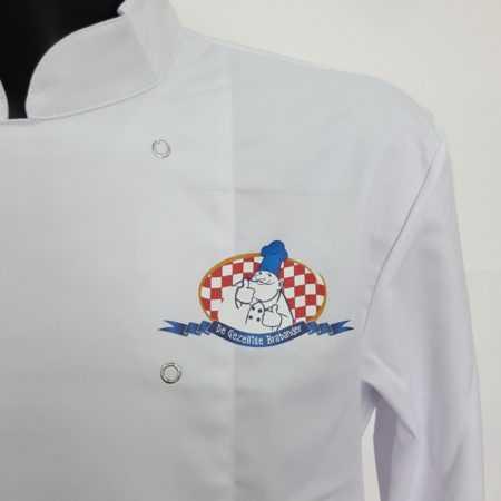 Bedrijfskleding horeca bedrukken logo