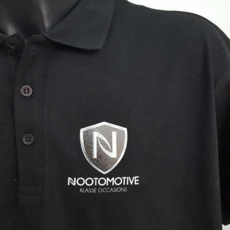 Bedrijfskleding logo tekst bedrukken polo