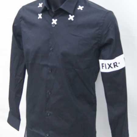 Horeca kleding overhemd bedrukt met logo