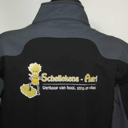 Hoveniersjas met logo bedrukken