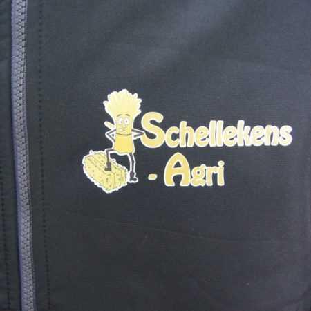 Bedrijfskleding bedrukken logo op vest