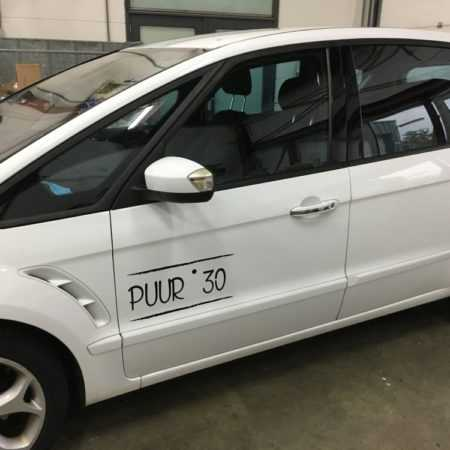 Auto belettering Puur 30